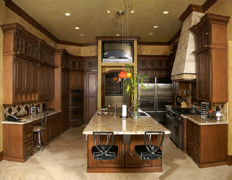 custom kitchen cabinet - SRS architectural woodwork