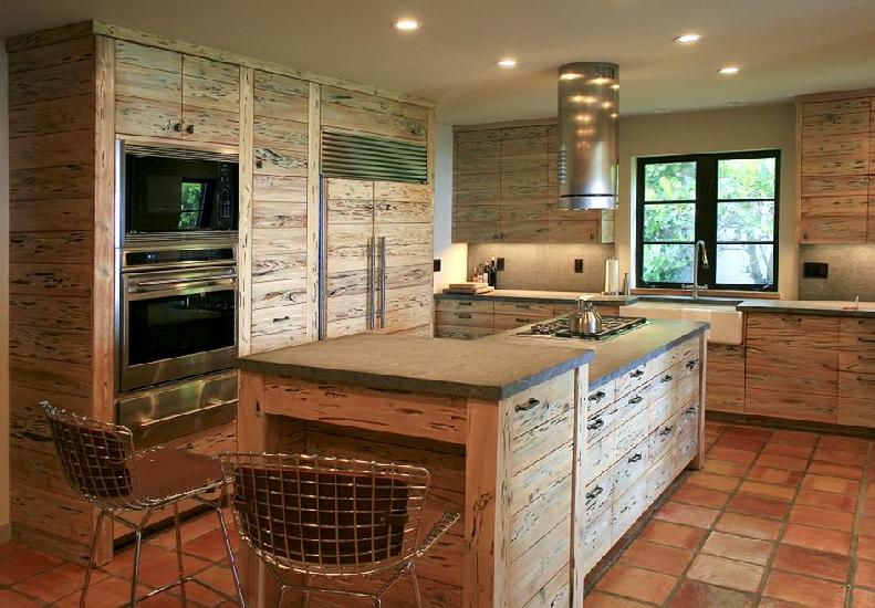 pecky cypress cabinetry
